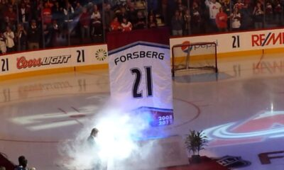 peter forsberg retirement jersey